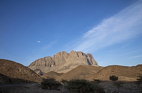 Omani Stock Photo of Mountain Road to Jebel Shams,Oman
