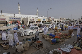Omani Stock Photo of Vendors, Marketplace, Editorial, People