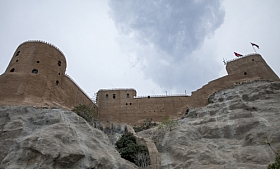 Omani Stock Photo of Omani Fort