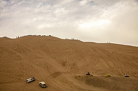 Omani Stock Photo of Cars speeding on Desert,Oman