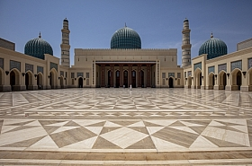 Omani Stock Photo of Sultan Qaboos Grand Mosque, Sohar, Oman