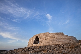 Omani Stock Photo of Omani ancient world heritage site Beehive tomb
