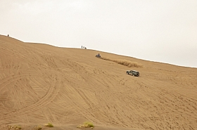 Omani Stock Photo of Cars on Desert ,Oman