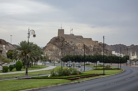 Omani Stock Photo of Oman,Muscat,old fort