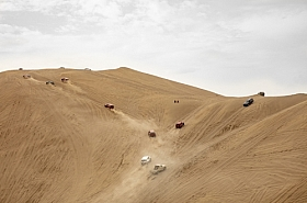 Omani Stock Photo of Drive in Desert