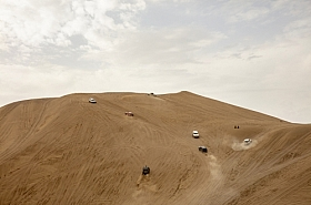 Omani Stock Photo of Driving across the Desert,Oman