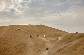 Omani Stock Photo of Cars on Desert,Oman