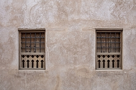 Omani Stock Photo of Omani ancient fort windows stockphoto